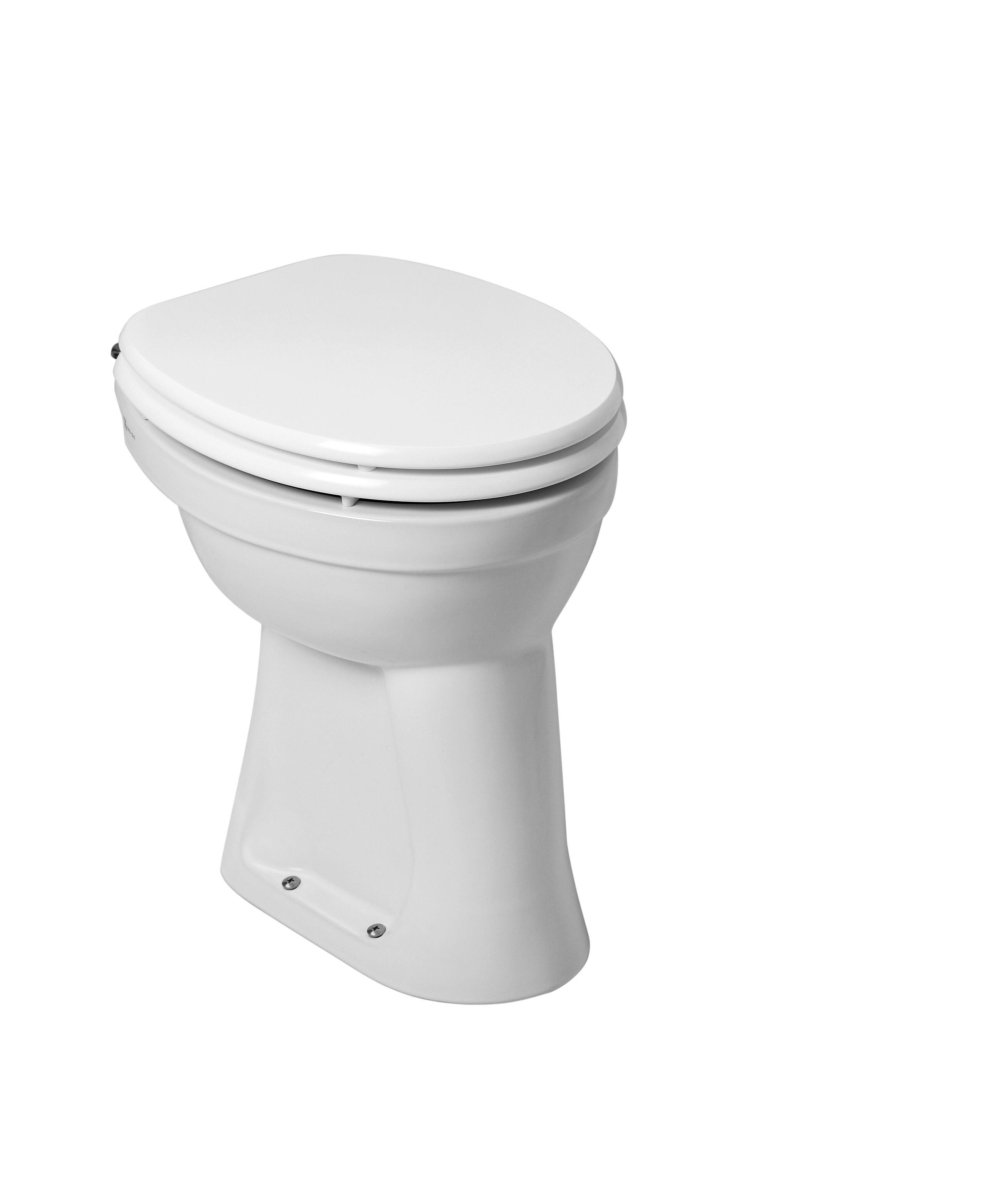 Verhoogde Wc Pot.Mueller Staande Verhoogde Toiletpot 6 Ao Wit