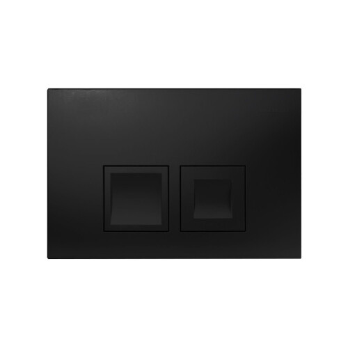 Geberit Delta bedieningsplaat Delta 50 t.b.v. UP100 mat zwart