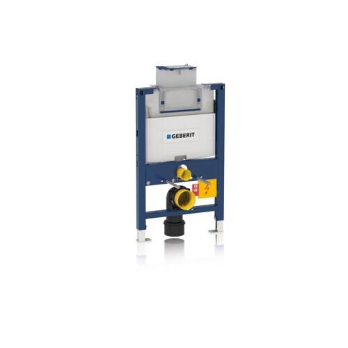 Geberit Duofix Omega inbouwreservoir extra laag 82cm met front- planchetbediening