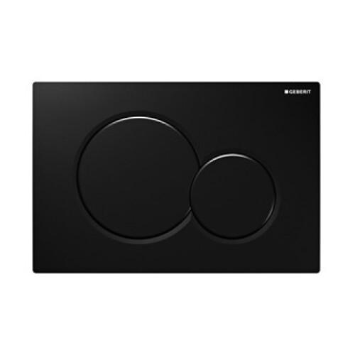 Geberit Sigma 01 zwart drukplaat