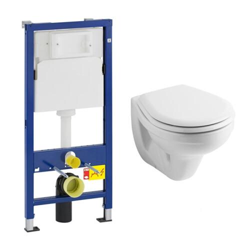 Geberit UP100 toiletset met Geberit Econ wandcloset en zitting
