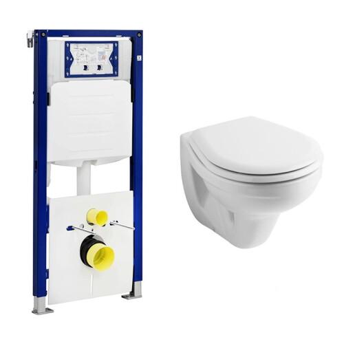 Geberit UP320 toiletset met Geberit Econ wandcloset en zitting