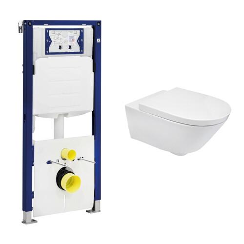Geberit UP320 toiletset met Mueller Sub en softclose zitting