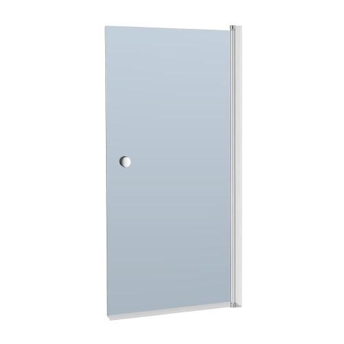 Kerra Crystal 4 badscherm 140x70cm grijsglas