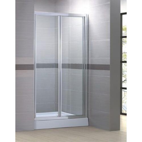 Kerra Harmony vouw douchedeur 90x195cm transparant