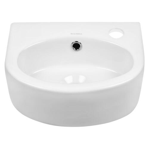 Kerra KR 601 fontein 34x26cm wit met kraangat