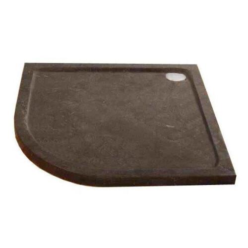 Lambini Designs Stone natuursteen douchebak kwartrond 90x90cm