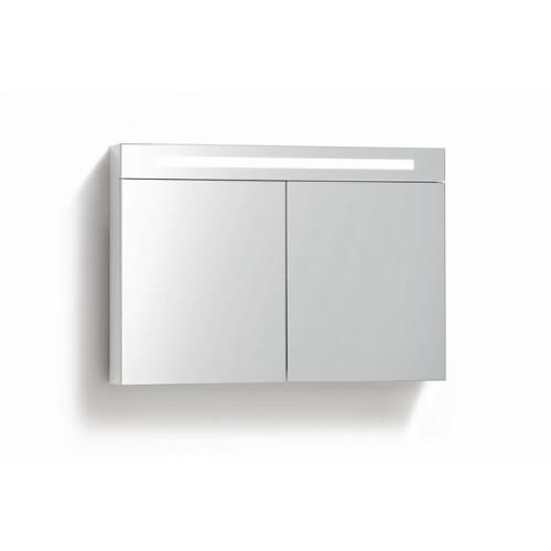 Lambini Designs TL spiegelkast 100x70cm hoogglans wit