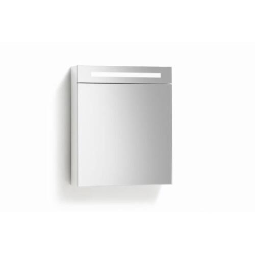 Lambini Designs TL spiegelkast 60x70cm hoogglans wit rechts