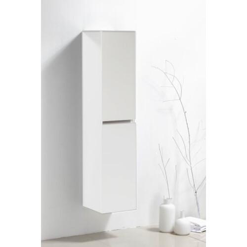 Lambini Designs Trend Line badkamerkast 160x35x35cm hoogglans wit