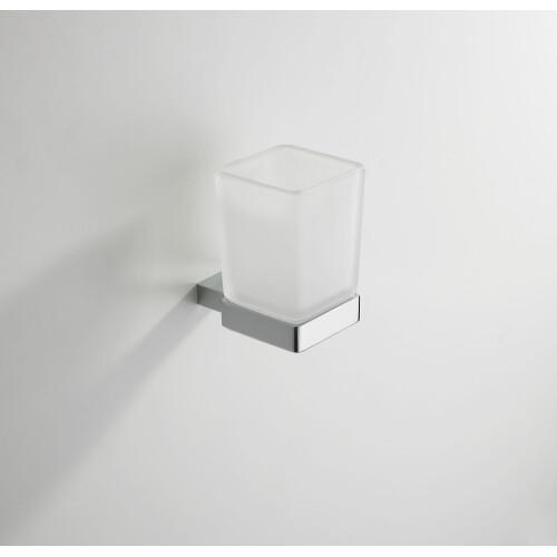 Mueller Cube drinkglas chroom