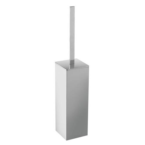 Mueller Cube vrijstaande toiletborstel chroom