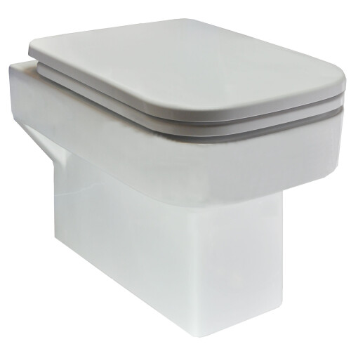 Mueller Cube wc pot met softclose zitting diepspoel wit