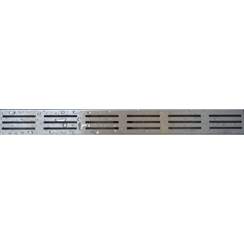 Mueller douchedrain RVS rooster type 1, 100cm