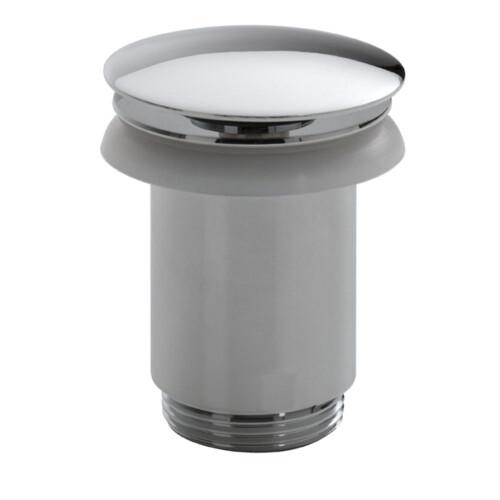 Mueller Luxe afvoerplug 5/4 hoog model chroom