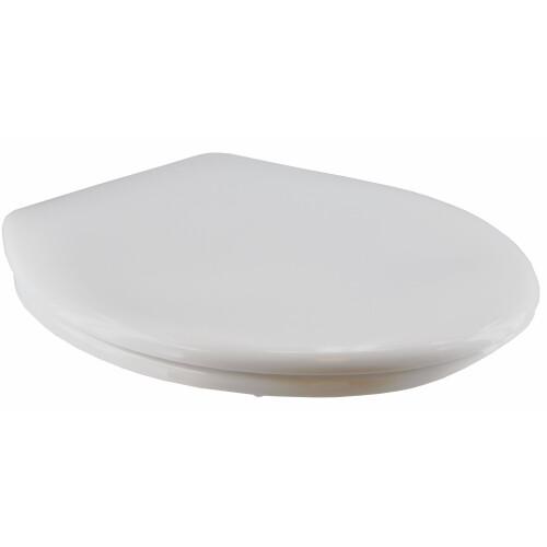 Mueller Neptunus toiletbril met deksel wit