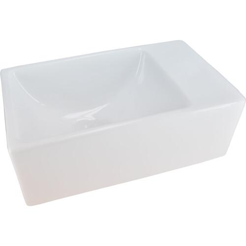 Mueller Rhea XXS fontein 30,5x18x11 zonder kraangat wit