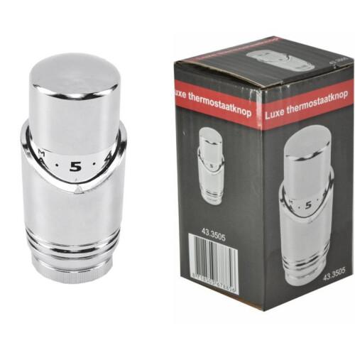 Mueller Riko luxe thermostaatknop M-30 chroom