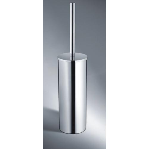 Mueller Round vrijstaande toiletborstel houder chroom
