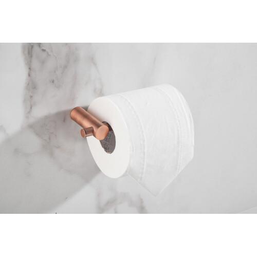 Saniclear Academy toilet rolhouder geborsteld koper