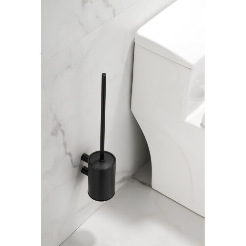 Saniclear Academy toiletborstel zwart mat
