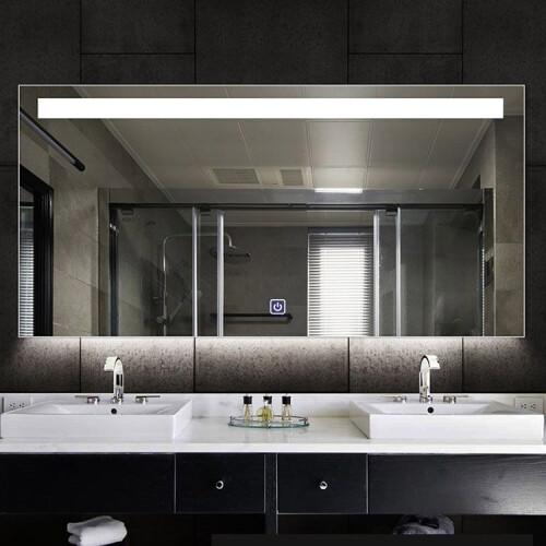 Saniclear Aruba spiegel 90x70cm met LED verlichting en spiegelverwarming