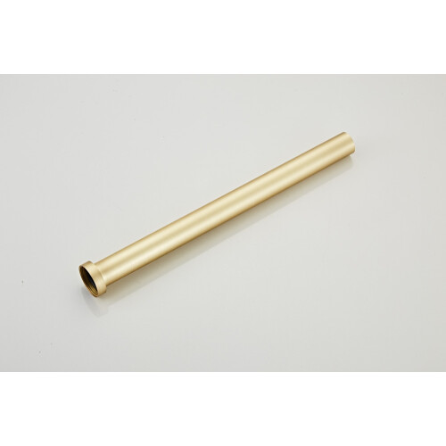 Saniclear Brass sifon verlengbuis 40cm geborsteld messing