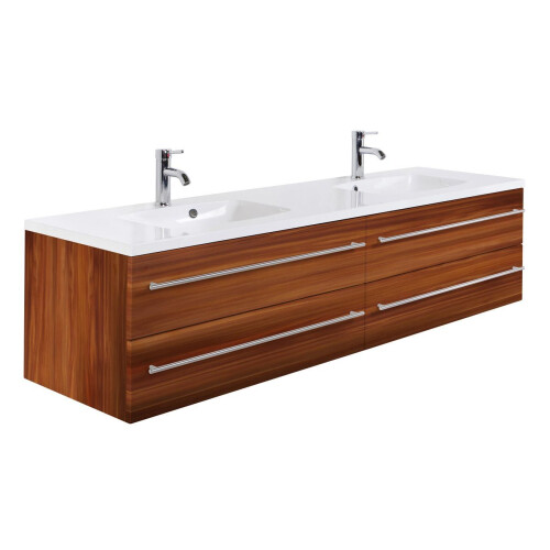 Saniclear Colossos badmeubel 180cm walnoot