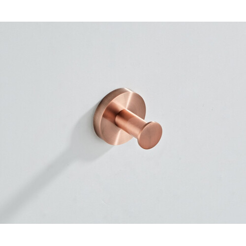Saniclear Copper haak handdoekhaak geborsteld koper