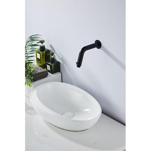 Saniclear Nero inbouw toiletkraan mat zwart