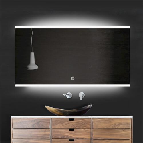Saniclear Riga LED spiegel 90x70cm met spiegelverwarming