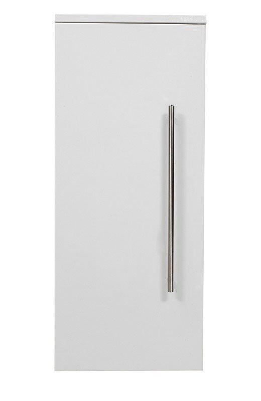 saniclear medium badkamerkast hoogglans wit 30x70 - bs421, Badkamer