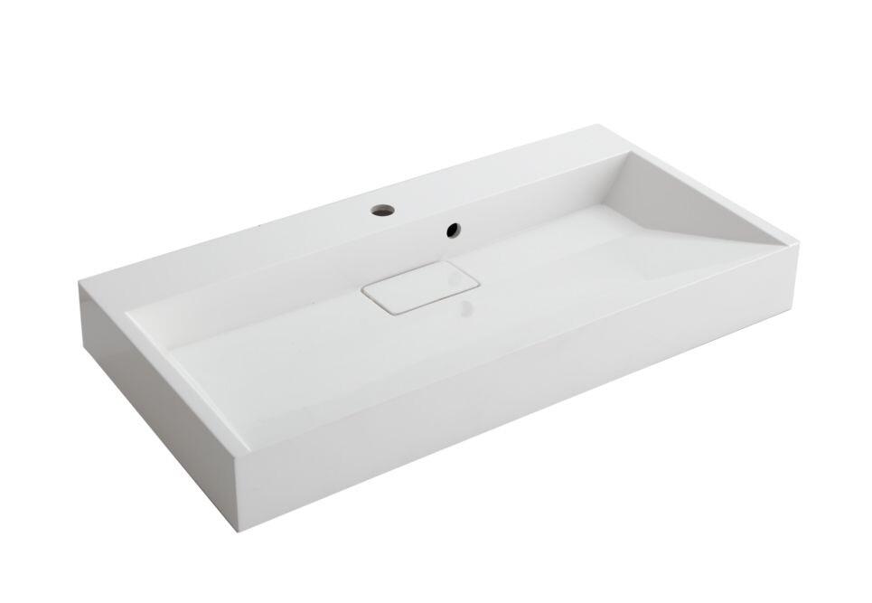 Badkamermeubel 90 Cm : Buitengewoon badkamermeubel cm badmeubel proline opbouwkom
