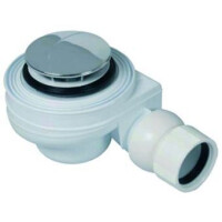 Plieger douchebakafvoer compleet 52mm voor douchebak m. gat 52mm chroom