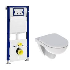 Geberit UP320 toiletset met Geberit 280 Rimfree toilet en softclose zitting