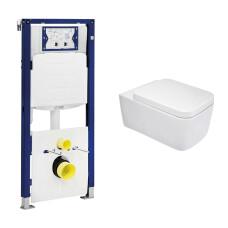Geberit UP320 toiletset met Mueller Larx en softclose zitting