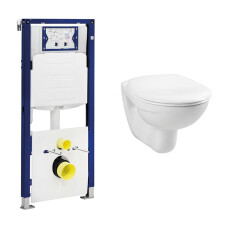 Geberit UP320 toiletset met Plieger Basic toilet en standaard zitting