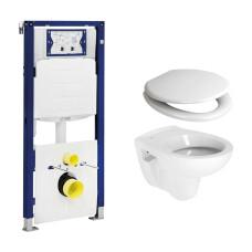 Geberit UP320 toiletset met Plieger Compact toilet en softclose zitting