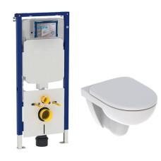 Geberit UP720 toiletset met Geberit 280 Rimfree toilet en softclose zitting