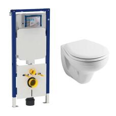Geberit UP720 toiletset met Geberit Econ wandcloset en zitting
