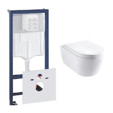 Grohe Rapid toiletset met Lambini Sub Compact en softclose zitting
