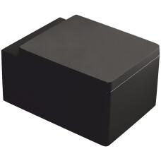 Kerra Thor zwart hangend toilet 38,5x52,5cm inclusief zitting