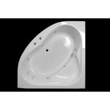 Lambini Designs Palermo hoekbad whirlpool 145x145cm 6+4+2 hydro jets