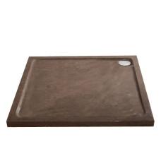 Lambini Designs Stone natuursteen douchebak vierkant 100x100cm