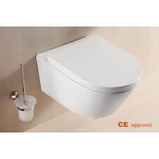 Mueller Sub wc pot met softclose zitting diepspoel wit 56cm