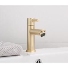 Saniclear Brass fonteinkraan geborsteld messing / mat goud