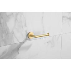 Saniclear Brass toiletrolhouder geborsteld messing mat goud