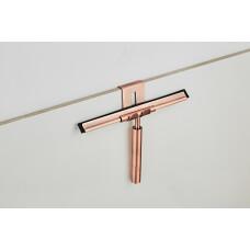 Saniclear Copper badkamer raam wisser 25cm geborsteld koper