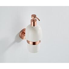 Saniclear Copper zeepdispenser geborsteld koper