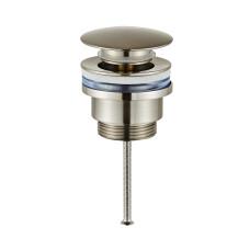 Saniclear Exclusive 304-RVS clickwaste afvoerplug